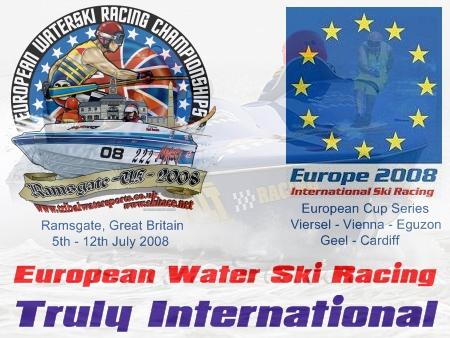 European Water Ski Racing - Truly International