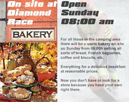 Diamond Race Bakery - on-site