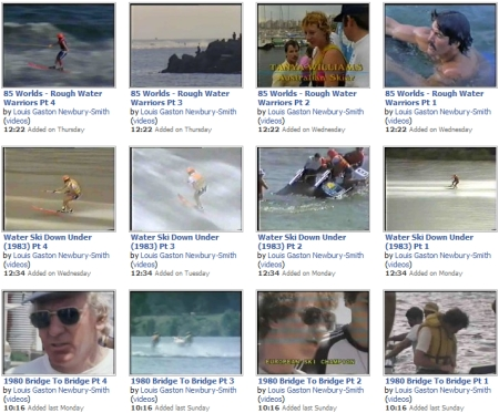 Ski Racing Videos on Facebook