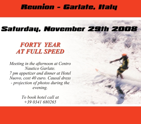 Italy Water Ski Racing 40 Year Reunion
