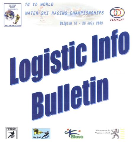 Logistic Info - 2009 World Water Ski Racing Championships