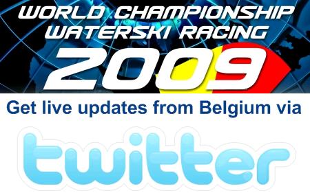 Get live updates via Twitter