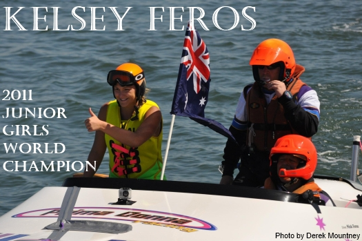 Kelsey Feros - Junior Girls World Champion