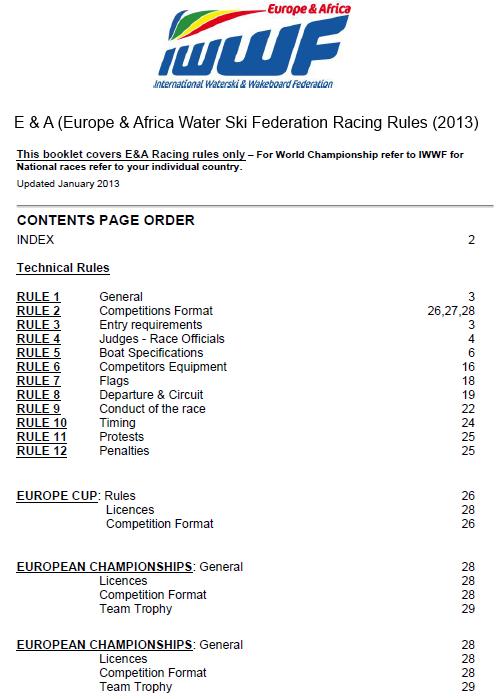 E & A Rules