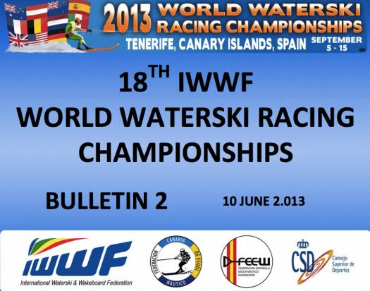 2013 Worlds Bulletin 2