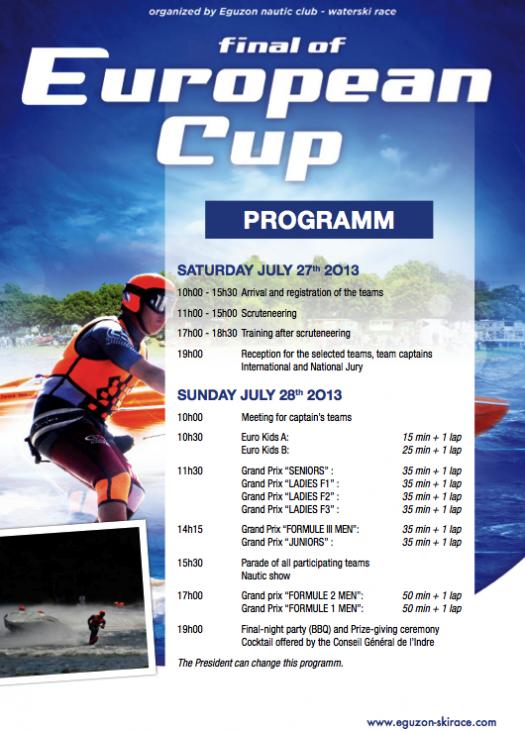 Eguzon Programme 2013