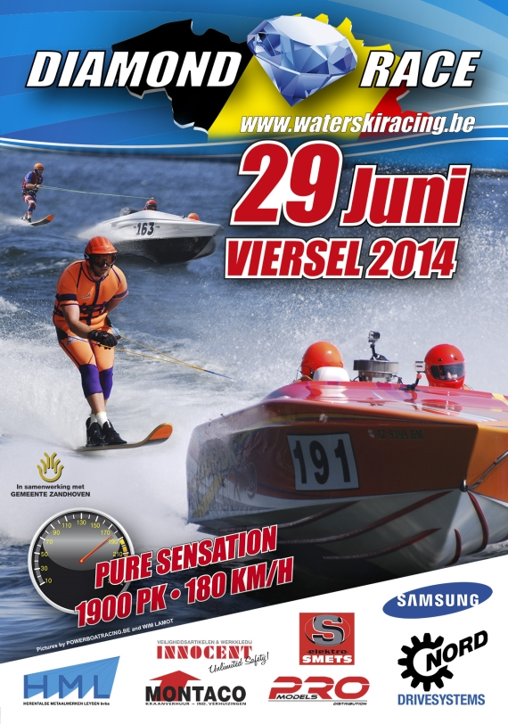 Diamond Water Ski Race 2014